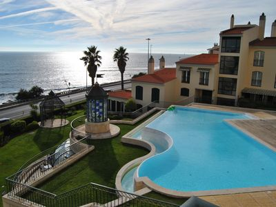 Photo for New 2 bedrooms 2 bathrooms with sea view and pool