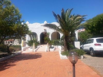 Photo for Fantastic villa, crystal-clear Sardinian sea, comfort and relaxation