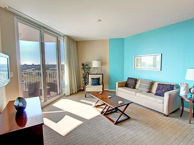 Photo for Colorful☀Palms Resort #2908 Jr. 2BR/2BA☀DEAL-Sep 20 to 22 $514 Total! LagoonPool