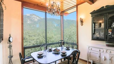 "Photo for Enjoy Idyllwild's natural elements from ""Falling Leaf View"" Mountain Home"