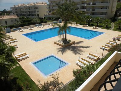 Photo for T3 APARTMENT WITH POOL SEA VIEW TERRACE AND TENNIS