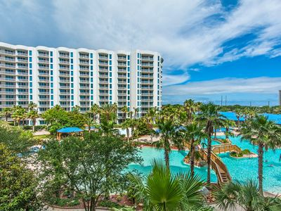 Photo for Palms Resort 2413 Jr 2BR/2BA☀OPEN May 4 to 7 $764!☀4th FL Views! Lagoon Pool!