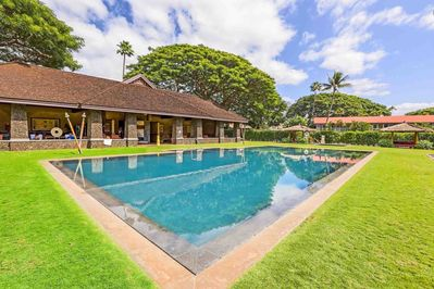 Enjoy a lazy afternoon relaxing around one of the the two Aina Nalu pools.