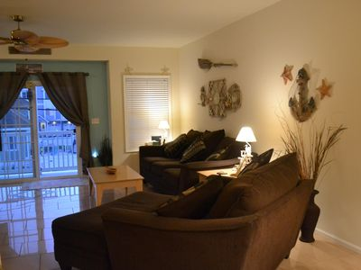 Photo for 6 NGT STAY LEFT-SUN. 7/7 TO SAT. 7/13, 3 BDRM, 2 BA, SLP 9, 1 BLK TO BEACH/BW