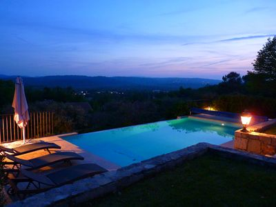 Photo for Beautiful villa, South East of France with views and heated pool