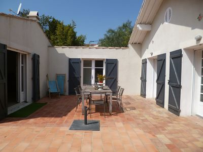Photo for Villa La Ciotat / storey 120m2 / 6 pers. / Garden Terrace near sea