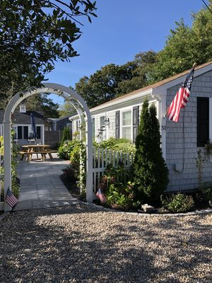 Photo for Beautiful Nantucket Cape Style Home ,West Yarmouth, Gorgeous Gardens!!!