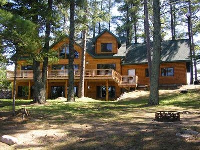 Photo for Up North Majestic Pines Retreat Lodge