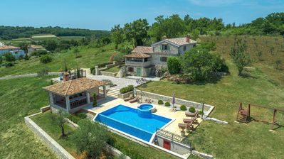 Photo for Unique Villa Bošket with Pool and Jacuzzi surrounded by Nature