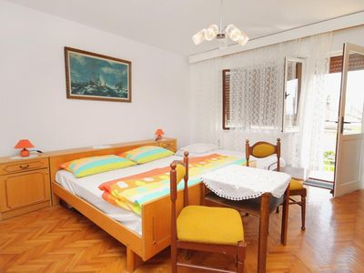 Photo for Two bedroom apartment with balcony and sea view Novi Vinodolski (A-5601-a)