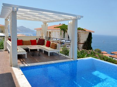 Photo for Stunning Panoramic Villa with fantastic sunset view