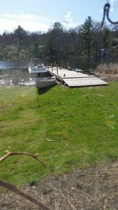 Photo for Lake front summer home w >150' of shore on spring-fed Otter Lake of the Chain