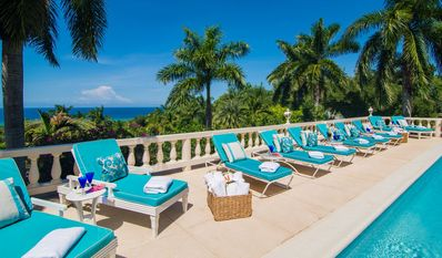 Photo for BEACH MEMBERSHIP, PRIVATE POOL, FULLY STAFFED, ELEGANT AND GRAND-ENDLESS