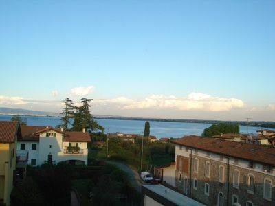 Photo for Holiday apartment with large terrace and lake view