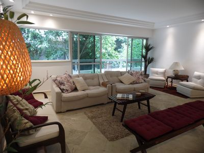 Photo for 4BR Apartment Vacation Rental in Leblon, RJ