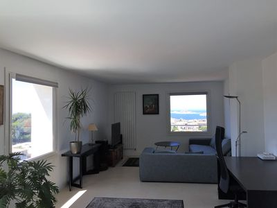 Photo for Beautiful apartment, 80m2, sea view in every room
