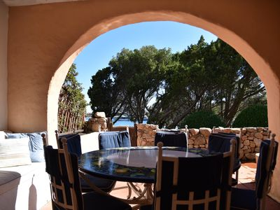 Photo for Luxurious apartment in Porto Cervo with sea view 20 meters from the Piazzetta