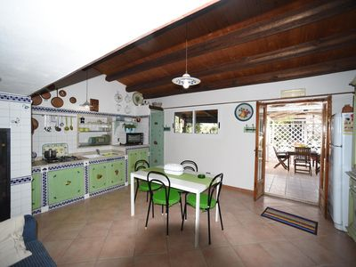 Photo for Delightful cottage surrounded by nature and 250 meters from the Mediterranean Sea.