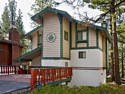 Photo for Relaxing vacation chalet with 2 bedrooms and two lofts in Tahoe Tyrol!