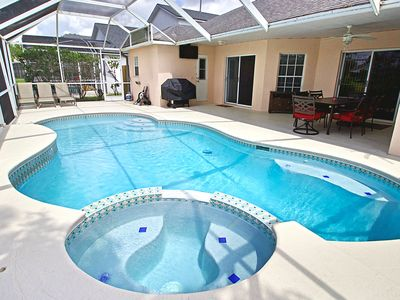 Photo for Disney Themed 4 Bed, Private Heated Pool and Hot Tub! Theater Room/Pool Table!