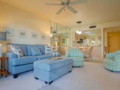 Photo for Park Shore Resort, 1st Floor, water views, West of 41, 1.25 miles to beach, fabulous location!