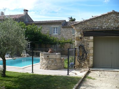 Photo for Mas en Provence with swimming pool