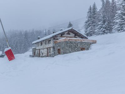 Photo for Entire chalet renovated on the slopes 5 min walk Arc 1600 8ch 6sdb 24pers