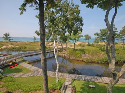 Beautiful Homestead Condominium -Glen Arbor - Lake Michigan, 3B/2.5BA; Acc 8