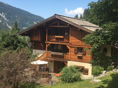 Photo for Superb Duplex in an individual 4* chalet with SAUNA