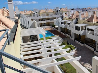 Photo for Modern 2-bedroom penthouse apartment, sleeps 4 by the sea in Cabanas de Tavira.