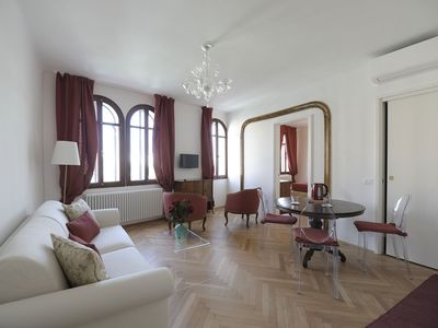 Photo for Savina - Elegant apartment with Canal view