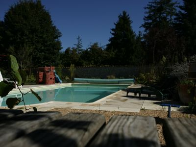 Photo for Gite farm-stay with private pool in rural Dordogne near Verteillac / Riberac