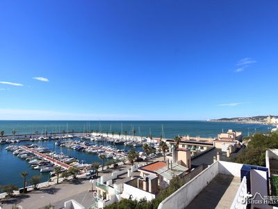 Photo for Stunning Sea View & Pool - Easy Walk to Beaches, Town, Marina - Casa Jetty