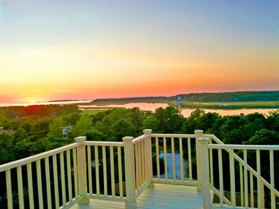 Photo for Breathtaking Wellfleet Designer Home ~Panoramic Views ~Near Ocean and Bay!