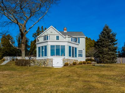 Wow, private estate in Old Lyme,  views, water access & separate guest cottage