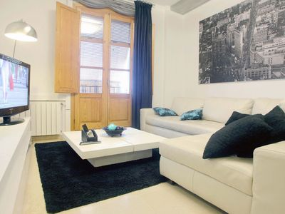 Photo for Beautiful Old Town Parking Wifi AC Heating Apartment