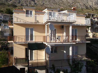 Photo for Apartment in Stanići (Omiš), capacity 8+0