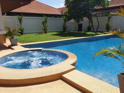Photo for Luxury 5 bhk private pool villa close to beach