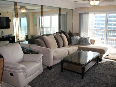 Photo for Ocean and Inter-Coastal Views - Penthouse Unit