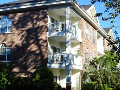 Photo for Winter rental available ~Cozy Golf Course condo, indoor & outdoor pool, WIFI.
