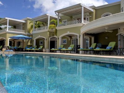 Photo for Monkey Hill Luxury Villa, 8 beds with ensuite, Sugar Hill, St James