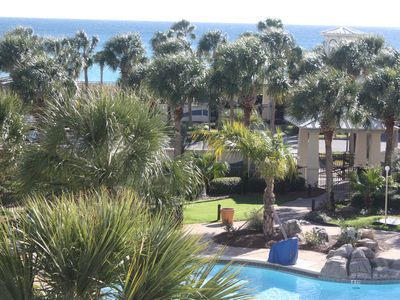 Photo for STERLING SHORES DESTIN, FL ONE BEDRM CONDO RENTAL LOCAL OWNER   GULF VIEW!