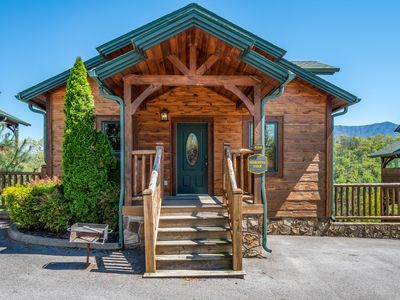 Photo for Summer Fun!! Beautiful View-Hot tub-Perfect Family or Couples Getaway