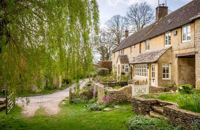 Photo for Willow Cottage is a stunning luxury cottage, built from Cotswold stone in a lovely hamlet