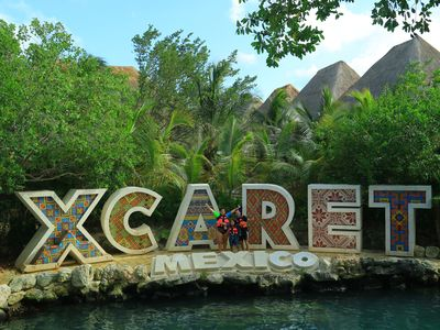 Photo for Xcaret Resort All Inclusive: Food, Drinks, 6 Eco Water Parks, Pyramid Tours!