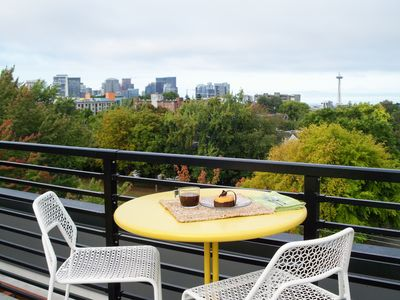Photo for Trendy Capitol Hill Condo w/ Beautiful Courtyards, 1 Block to Volunteer Park