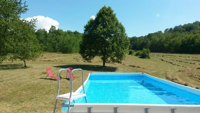 Photo for Homerez last minute deal - Big house with swimming-pool and Wifi