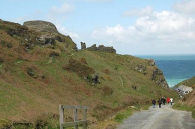 Tintagel - King Arthurs Castle