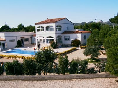 Photo for Beautiful villa with gr. Pool, compl. Completed park-like 3800m² plot
