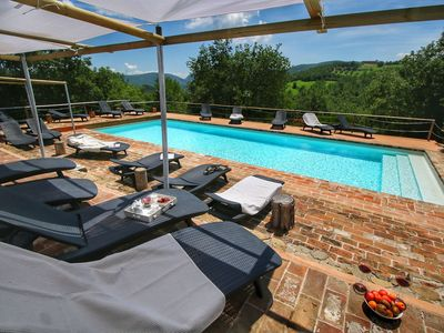 Photo for Lush Farmhouse in Umbertide with Pool, Garden & BBQ